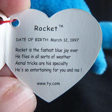 Rocket Ty Beanie Baby