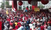 Vagner de Freitas - Manifestação reforma política