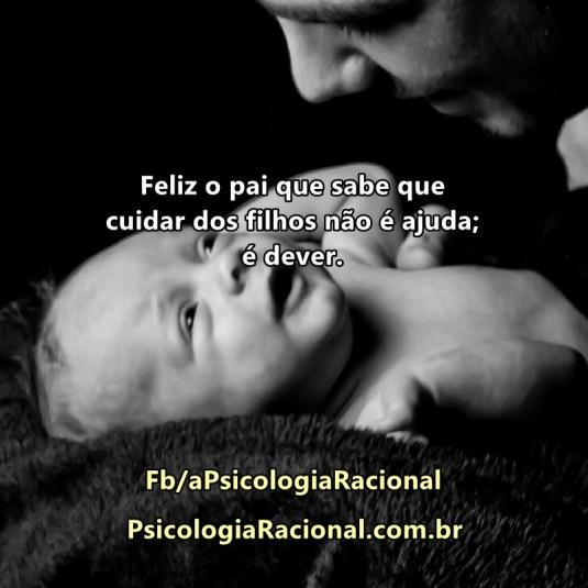 Paternidade responsável ajuda a cuidar dos filhos