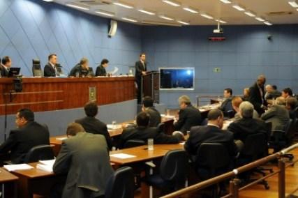 Plenário da Câmara Municipal de Campinas