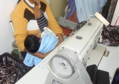 trabalho escravo na indústria têxtil