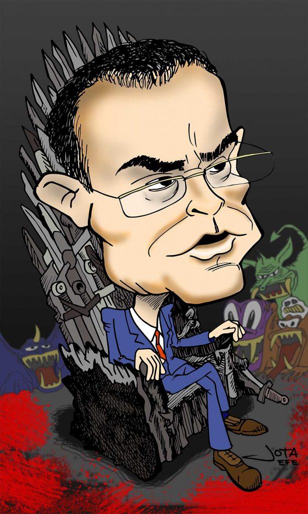 Pedro Baños, el experto en geoestrategia, víctima de las fuerzas conspirativas.