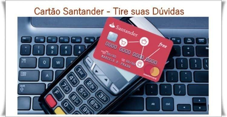 Cartão Santander Tire suas dúvidas