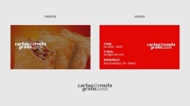 download modelo de cartão de visita pastelaria vetor