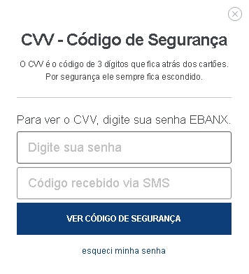Ebanx Dollar Card CVV