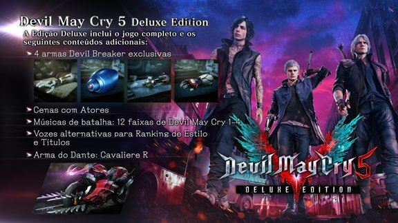 Devil May Cry 5 - Deluxe Edition - Steam/PC