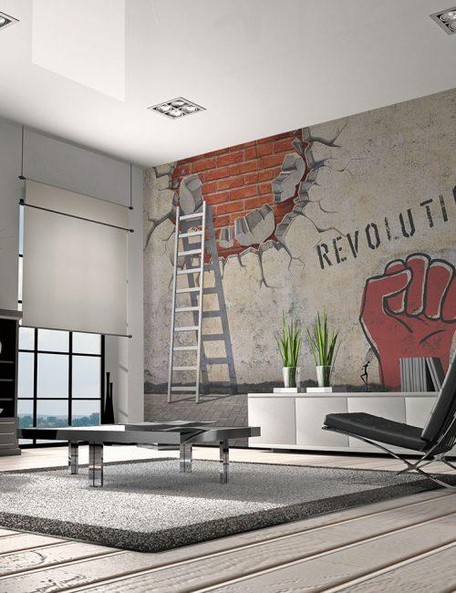 Discover (and save!) your own pins on pinterest. Carta Da Parati Industrial Il Design Giusto Per La Tua Casa