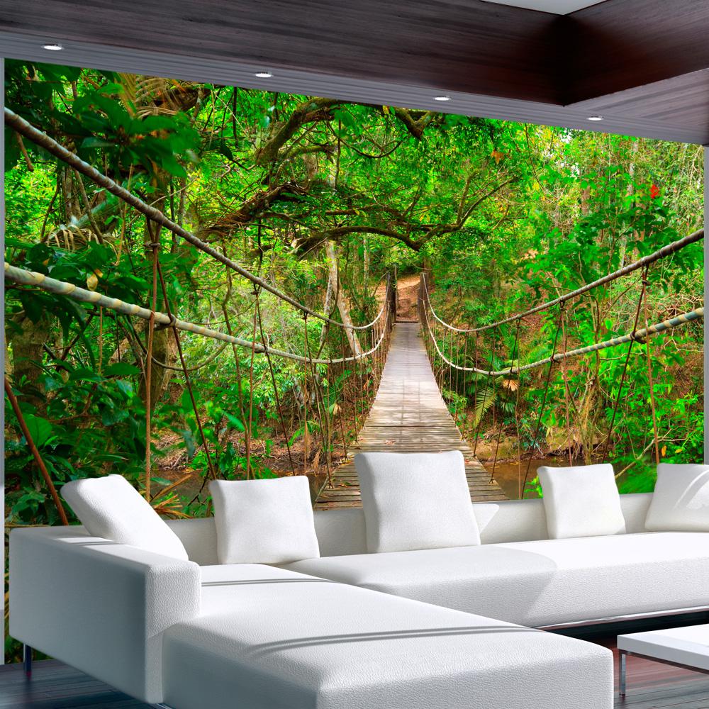carta da parati per sala da pranzo: Carta Da Parati Jungle Le Idee Piu Belle Per La Vostra Casa