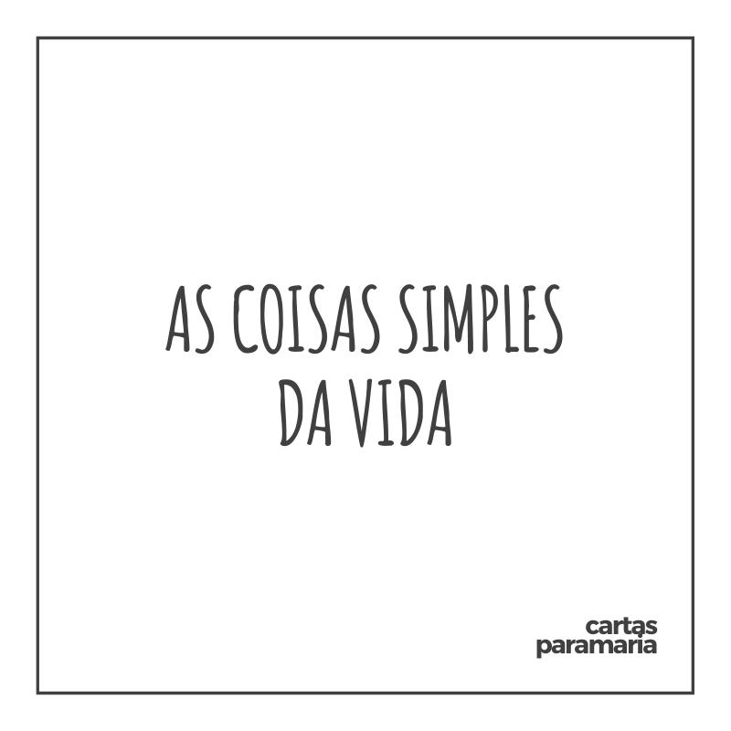 as coisas simples da vida   Bráulio Bessa