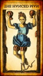 El Colgado invertido Tarot