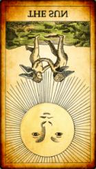 El Sol invertido Tarot