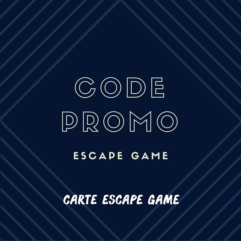 Code promo escape game paris