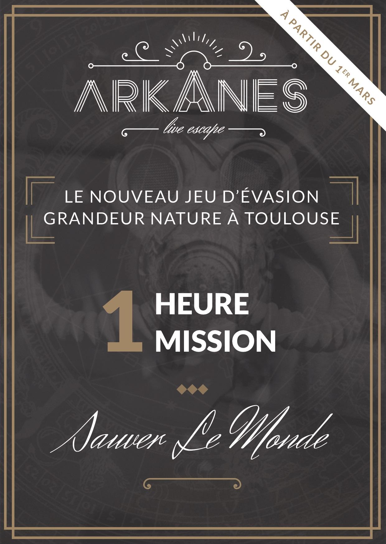 arkanes live escape toulouse escape game avis promo. Black Bedroom Furniture Sets. Home Design Ideas