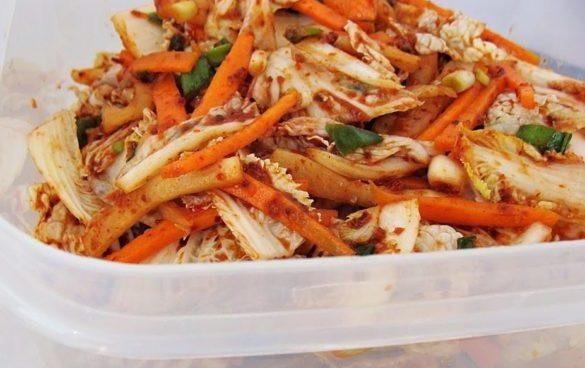 cum se face kimchi - reteta pas cu pas