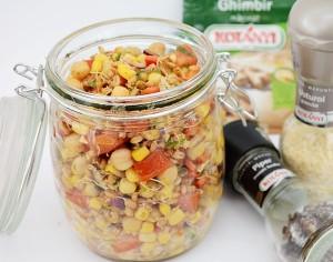 salata indiana cu naut si porumb1