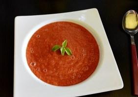 supa raw de rosii