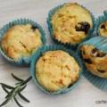 muffins cu masline si telemea