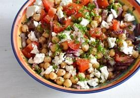 Salata turceasca cu naut