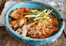 Supa Ramen cu kimchi