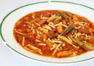 Supa italiana Minestrone