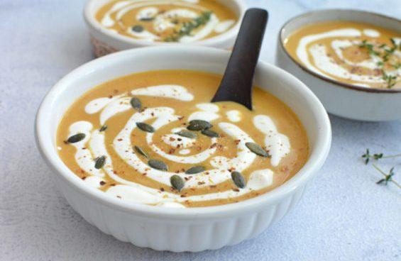 supa de dovleac la crockpot