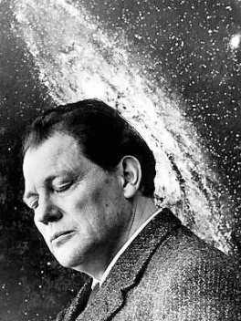 Arkiv 1954 - Bonnierarkivet. Harry Martinson, fšrfattare. Bild ur boken Lennart Nilsson hans livs bilder. Sid 117. Foto: Lennart Nilsson Kod: 3054 COPYRIGHT PRESSENS BILD