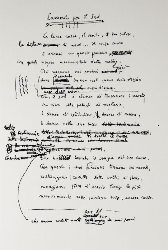 La parola ermetica nella poesia di salvatore quasimodo carteggi letterari critica e dintorni - Poesia specchio quasimodo ...