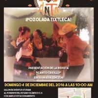domingo 04 de diciembre de 2106 * ¡POZOLADA TIXTLECA! * #stunam