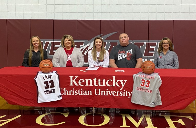 Kylie Gilliam signs with Kentucky Christian University
