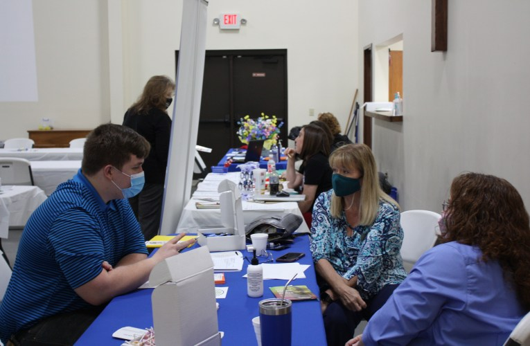 Looking for work: Career Center and Chamber hold job fair
