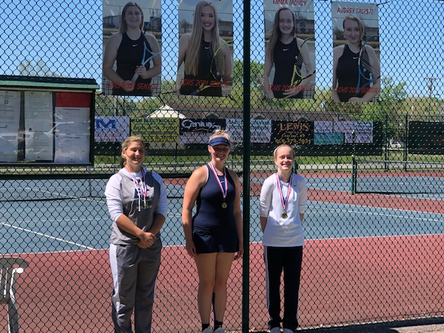 East Girls win in 16th Region Tennis Tournament: Take home singles and doubles victories