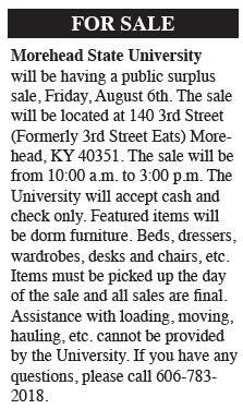 For Sale: MSU public surplus sale