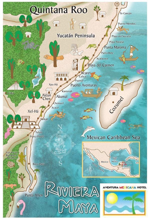 Riviera Maya Lets Go Explore