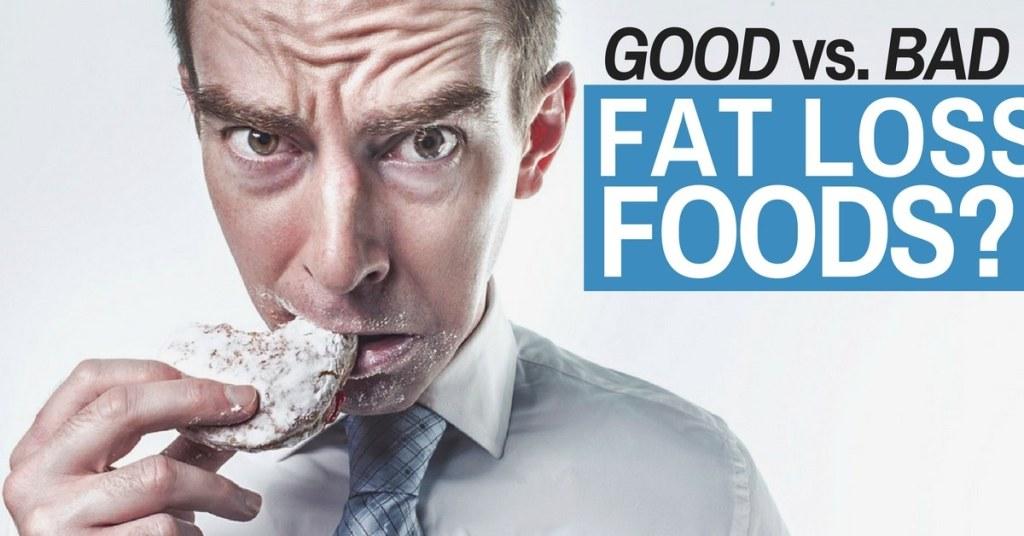 good vs. bad foods
