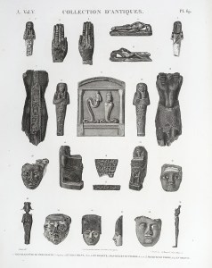 Description de l'Egypte - Collection d'Antiques