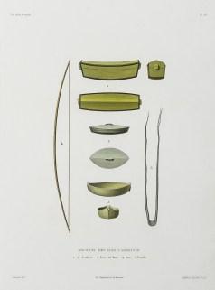 gravure ancienne - iles Carolines