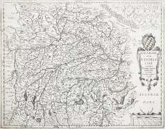 Carte géographique ancienne - Bavaria
