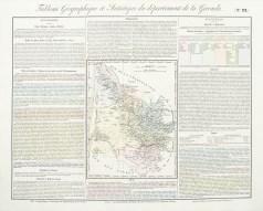 Carte originale de la Gironde