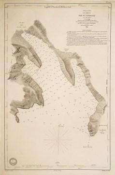 Carte marine de Nuka - Hiva - Iles Marquises - Antique chart