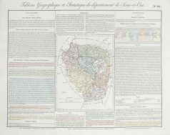 Carte originale de la Seine et Oise