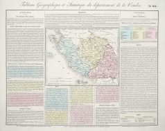 Carte originale de la Vendée