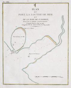 Carte marine - Port La Loutre - Baie St Patrice