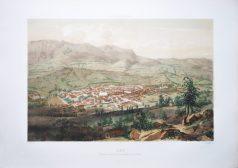 Gravure ancienne - Gap - St. Méens - Voyage Aérien en France
