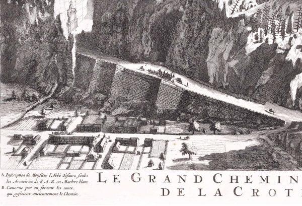 Miribel - Savoie gravure ancienne