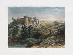 Gravure ancienne de Tiffauges