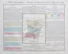 Carte originale de la Mayenne