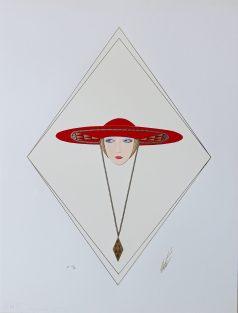 ERTE - Chapeau rouge