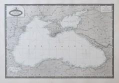 Carte marine ancienne de la mer Noire