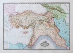 Carte géographique de la Turquie