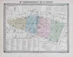 Plan ancien du 2e arrondissement de Paris
